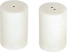 Kave Home - Saliera e pepiera Claria in marmo
