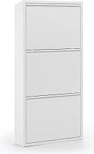 Kave Home - Scarpiera Ode 50 x 103 cm 3 ante bianco