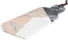 Kave Home - Tagliere Bergman marmo multicolore