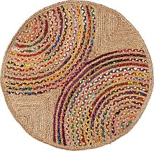Kave Home - Tappeto rotondo Graciela Ø 100 cm