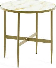 Kave Home - Tavolino Elisenda Ø 50 cm