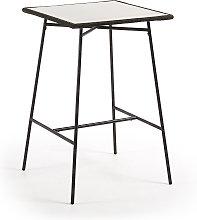 Kave Home - Tavolo alto Leora 70 x 70 cm