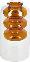Kave Home - Vaso Charlize arancione