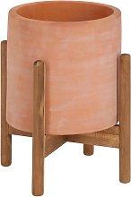 Kave Home - Vaso Dalva in terracotta Ø 26 cm