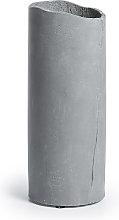 Kave Home - Vaso Nille cemento grigio scuro