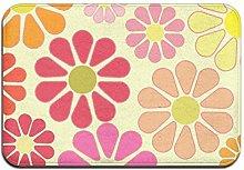 Kawaii Flower Outdoor Mat Zerbino Entrata Tappeto