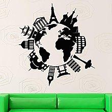 KBIASD Decalcomania della parete Vinyl Art Home