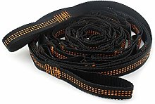 Kcnsieou - Cintura per amaca, resistente, 2 pezzi