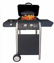 ke grill Barbecue A Gas 2 Fuochi + Fornello