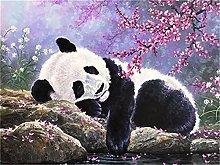 Kekieer 5D DIY Diamond Painting Kit Panda Pieno