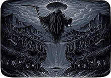 KENADVI Tappetini da bagno per bagno,Grim Reaper