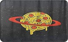 KENADVI Tappetini da bagno per bagno,motivo Pizza