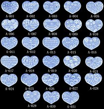 KERDEJAR Stampi, 28 Pezzi Mini Formato Nail Art