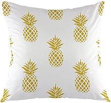 KEROTA - Federa per cuscino, motivo ananas, per