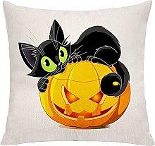KEROTA Happy Halloween Decorazioni Zucca Gatto