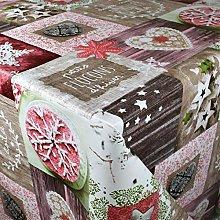 KEVKUS P1031-2 - Tovaglia cerata natalizia con