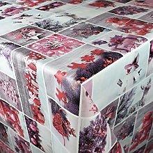 KEVKUS P1032-3 - Tovaglia cerata natalizia con
