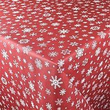 KEVKUS P1096-3 - Tovaglia cerata natalizia con