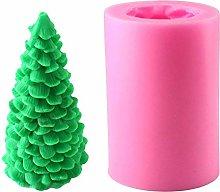 Kikier, stampo 3D per candele, a forma di albero