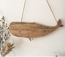 Kikioo Decorazione da Parete in Legno di Balena,