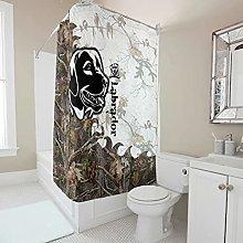 kikomia Tenda da doccia decorativa mimetica,