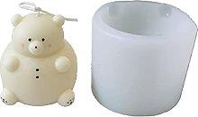 Kimyu - Stampo in silicone 3D a forma di orso fai