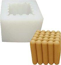 Kimyu - Stampo in silicone per candele cilindriche