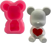Kimyu - Stampo in silicone per orso, fai da te,