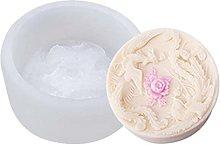 Kimyu - Stampo in silicone per torta di luna,