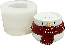 Kimyu - Stampo per biscotti a tema pupazzo di neve