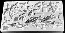Kimyu - Stampo per fondente in silicone, per
