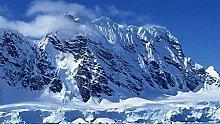 Kit da ricamo a punto croce-Snow Mountain