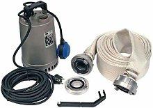 Kit di pompaggio di emergenza 10m di acqua pulita