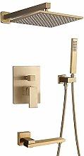 kit doccia incasso, con doccino anticalcare per
