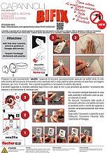 Kit incollaggio accessori Capannoli BIFIX | Adesivo