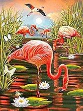 Kit per pittura diamante 5D Uccello del laghetto