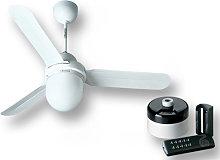kit ventilatore soffitto nordik design is/l 90/36