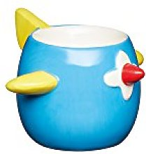 KitchenCraft KCEGGPLANE Uovo Cup, Blu