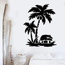Kjlfow Adesivo murale Beach Home Holiday Viaggi