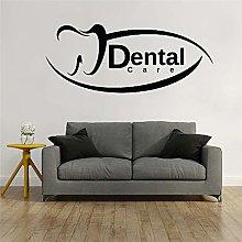 Kjlfow Logo Dentale Nuovo Design Adesivo da Parete