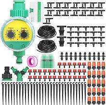 KKmoon Kit di irrigazione a goccia per irrigazione