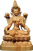 KKUUNXU Bosso Bodhisattva Tara Verde Scultura