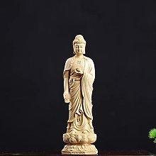 KKUUNXU Bosso Occidentale Tre Buddha Scultura in