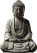 KKUUNXU Cinese Zen Buddha Statua Decorazione Casa