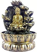 KKUUNXU Creativo Statua di Buddha Fortunato Feng