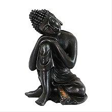 KKUUNXU Nuovo Cinese Antico Statua di Buddha Testa