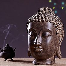 KKUUNXU Ornamenti per la Testa di Buddha in Stile