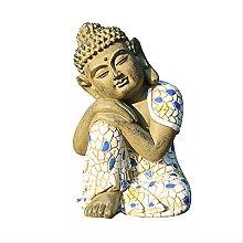 KKUUNXU Paesaggio Tromba Decorazione del Buddha