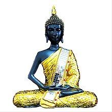 KKUUNXU Sakyamuni Pure Golden Buddha Statua