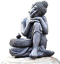 KKUUNXU Scultura da Giardino Resina Statua di